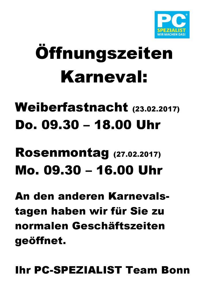 Öffnungszeiten Karneval2017-001